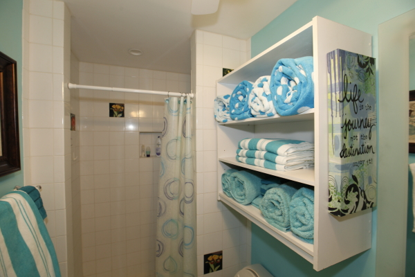 24 bath Towel cubby